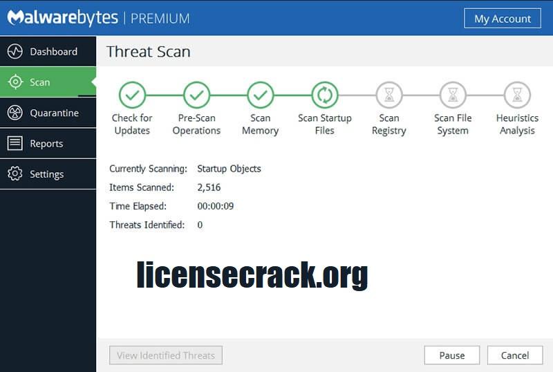 Malwarebytes Crack v4.2.3.195 Premium License Key 2021
