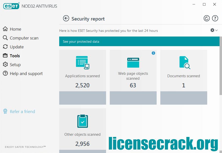 ESET NOD32 Antivirus 2021 Full Crack + License Key {Final}