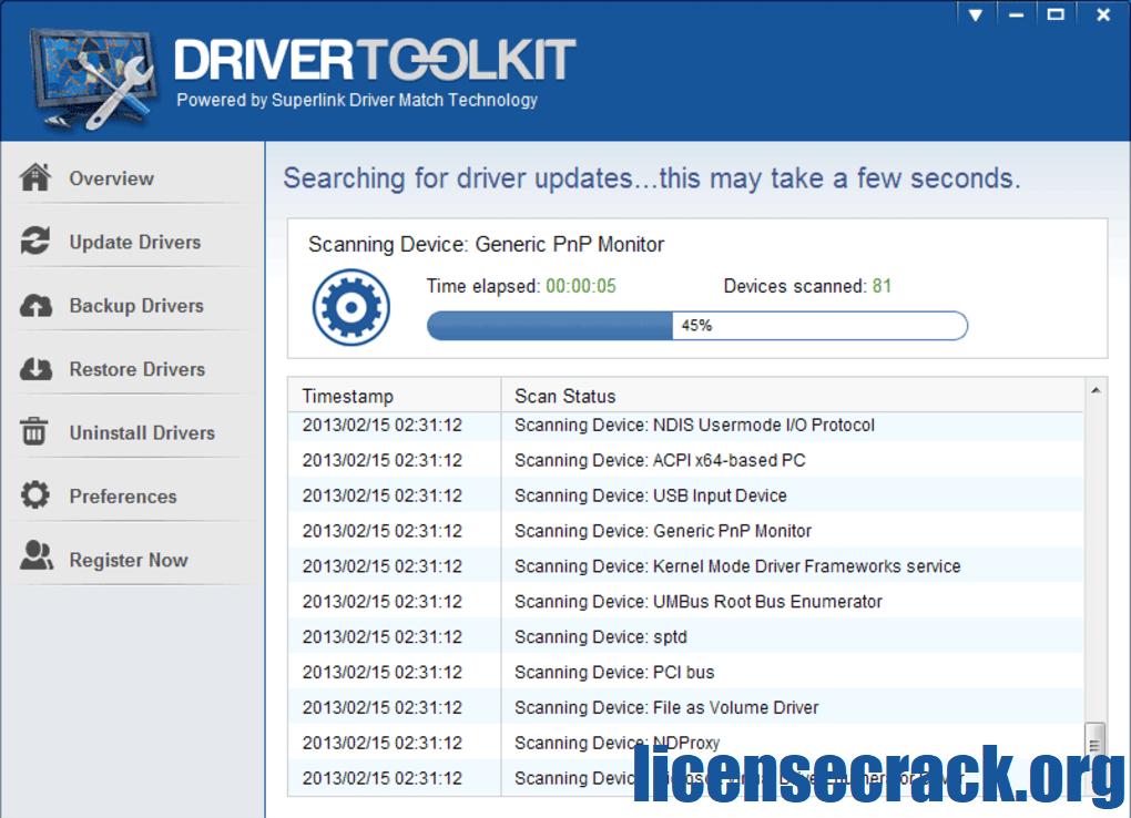 Driver Toolkit Crack + License Key 2021 Latest