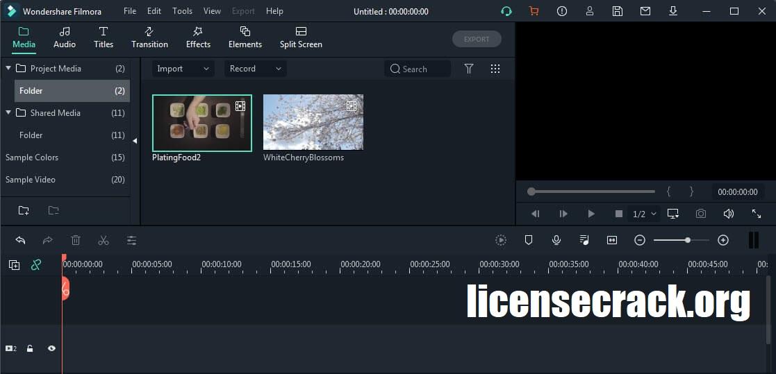 Wondershare Filmora Crack 10.0.0.94 Serial Key Download