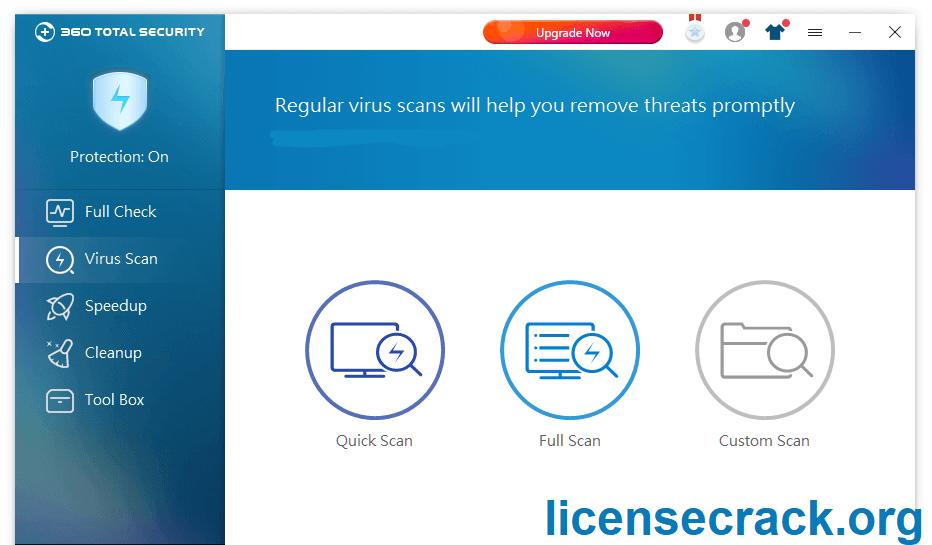 360 Total Security 10.8.0.1262 Crack + License Key (Premium)