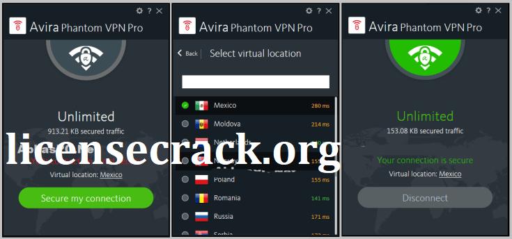Avira Phantom VPN Pro Crack + Serial Key Free Download