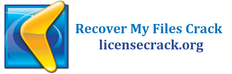 Recover My Files Crack With License Key 2021 [Latest]